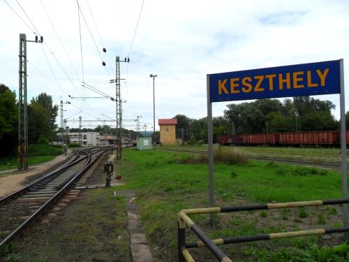 A tutaj już Keszthely.