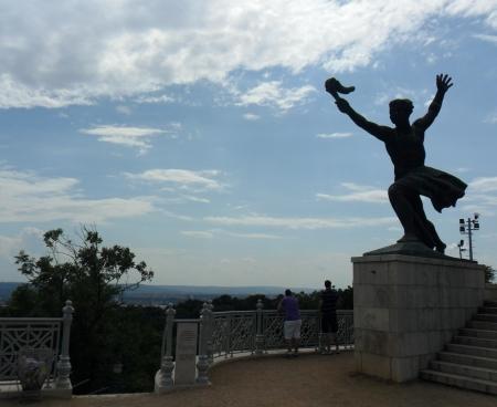 Przy Statui Wolności