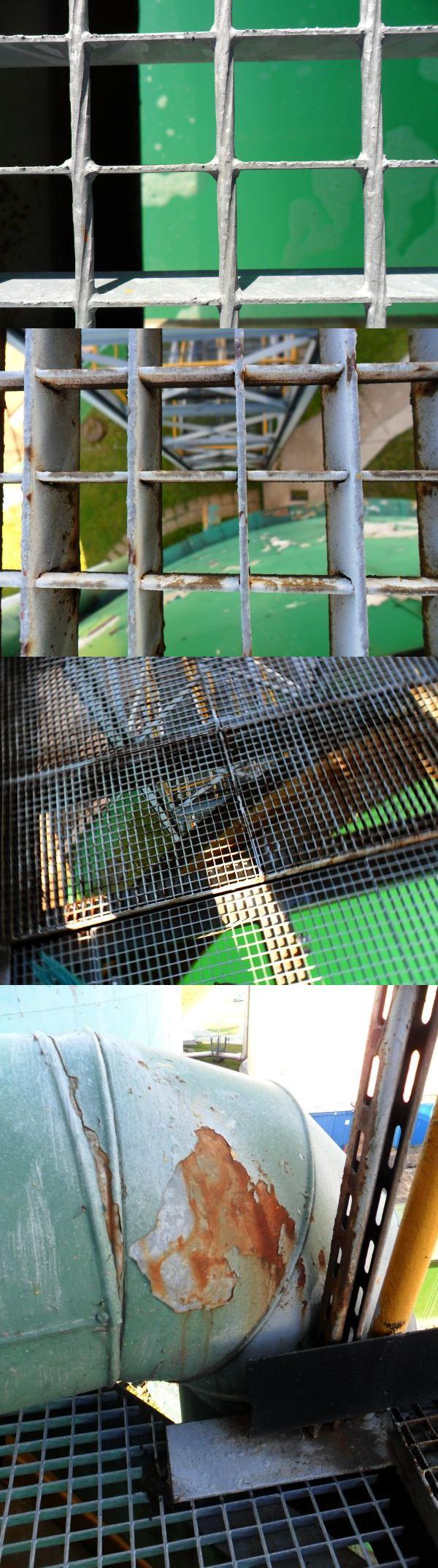 Plac zabaw (kraciasta zapora przed upadkiem).