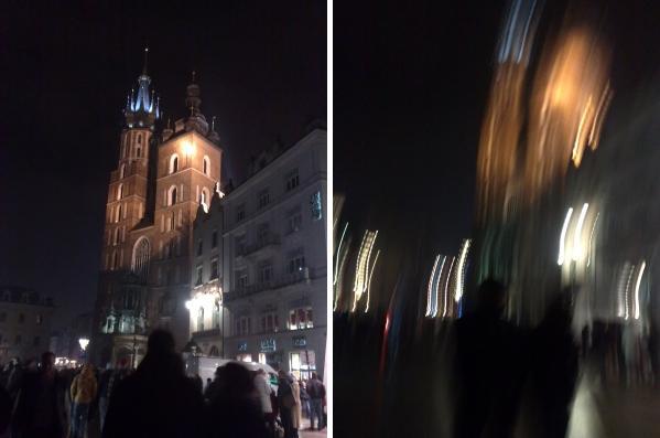 To samo ujęcie przed i po północy :3