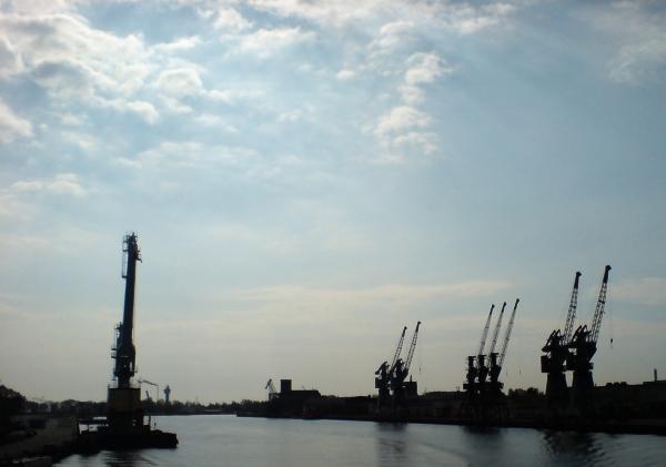 I jeszcze tutaj. Widok z tramwaju wodnego relacji: Gdańsk-Hel.